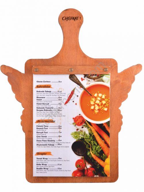 Special Design Wooden Menus