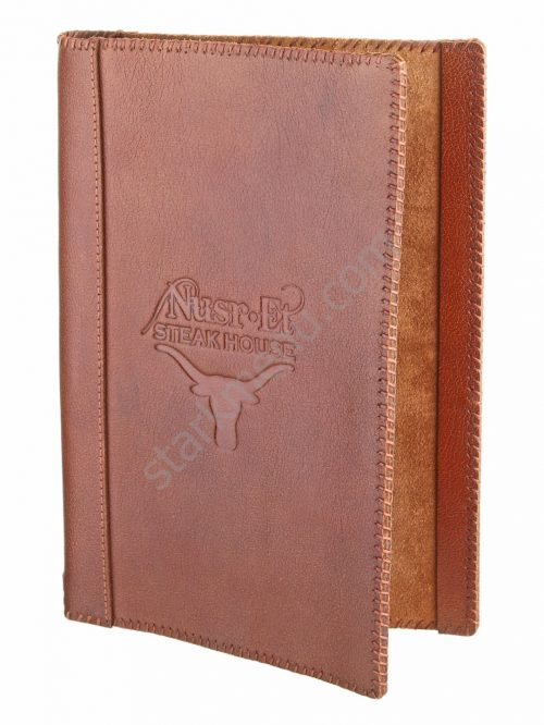 Real Leather Menus